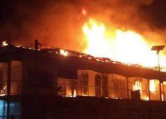 20 nursery children die in school fire