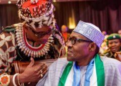 """""""Igbo will always support you"""" – Enugu monarch tells Buhari"""